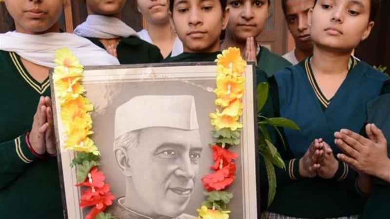 Nehru had a particularly important role in shaping a specific reading of India's history [AFP/Getty Images]