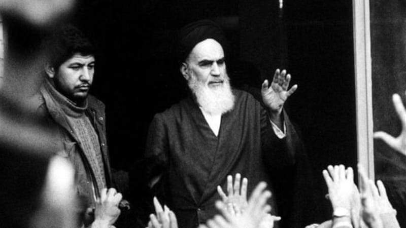 Khomeini emerged as the dominating political figure in post-revolution Iran [Reuters]