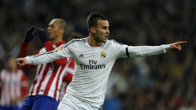 Jese Rodriguez was the only man to score at the right end at the Bernabeu on Wednesday [AP]