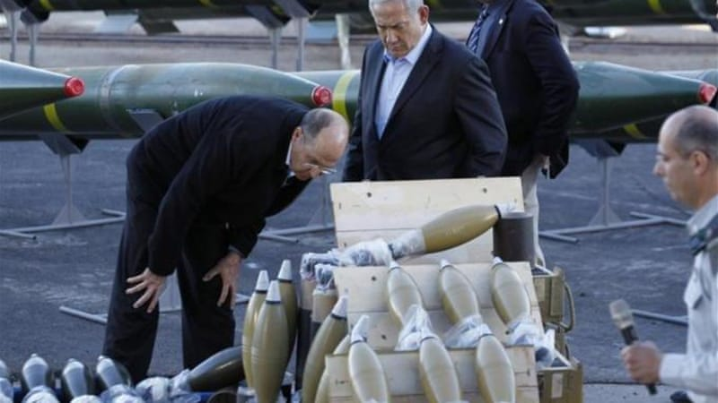 Forty M-302 surface-to-surface rockets manufactured in Syria were in the shipment [Reuters]