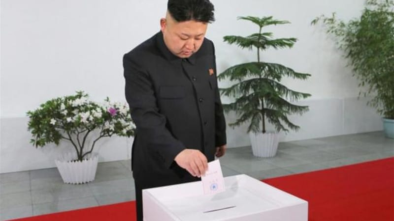North Korea held its highly ritualistic parliamentary elections, with the predictable turnout of 99.9 percent, writes Lankov [EPA]