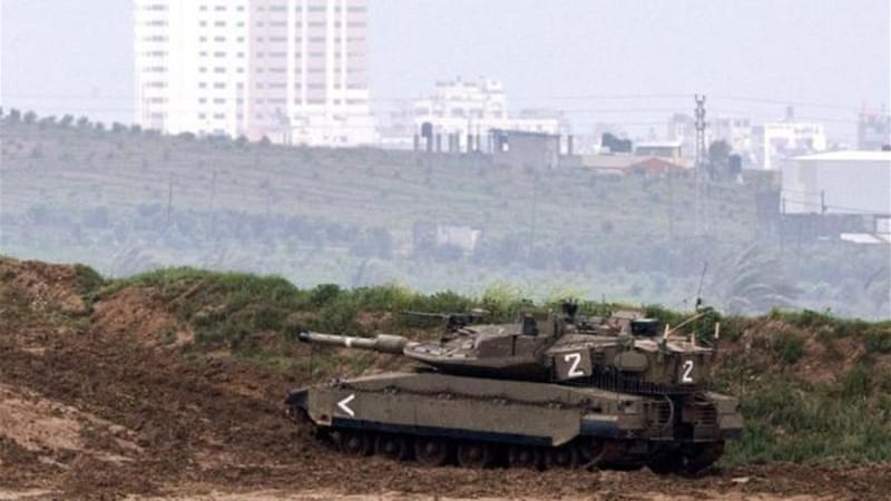 Israeli forces attacked several targets in Gaza in response to rocket fire [AFP]