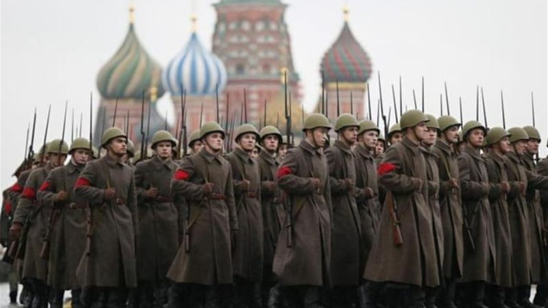 Russia considers World War II a key moment of unity in its recent history [EPA]