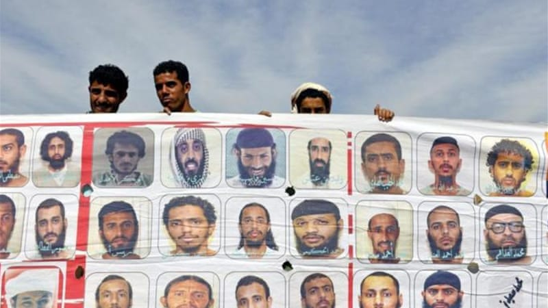 Dozens of Guantanamo prisoners who have not been tried still await release [EPA]