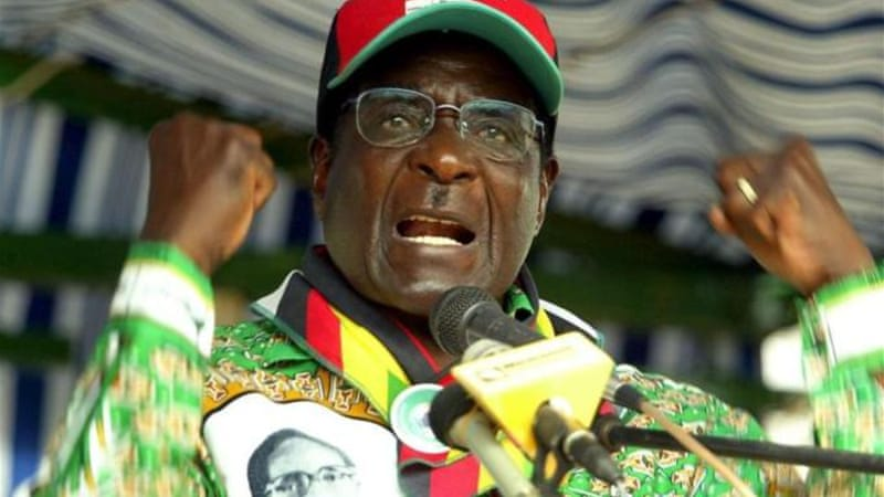 "President Mugabe described corruption in Zimbabwe as a ""growing disease"" [EPA]"