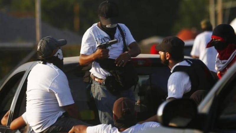 Vigilante groups have joined the police in the fight against the Knights Templar cartel [Reuters]