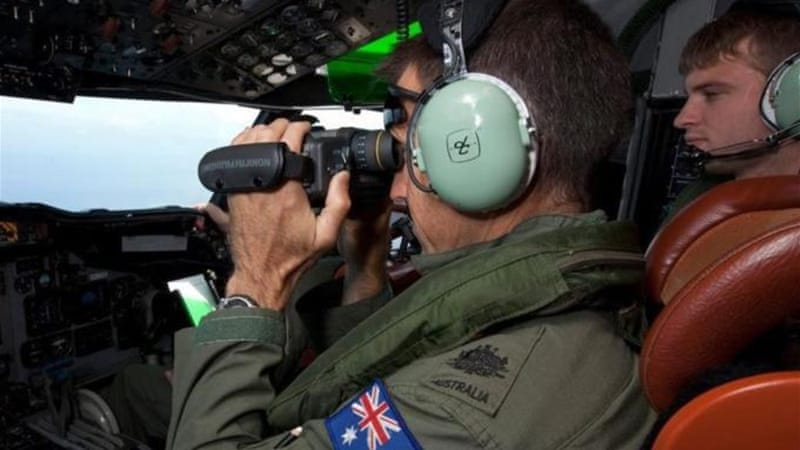 Australian military teams have been searching the southern Indian Ocean for signs of the missing plane [EPA]