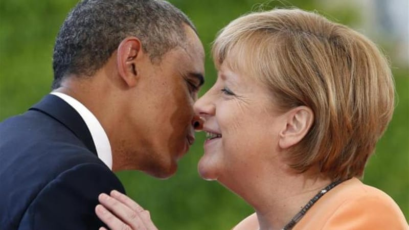 'It's time that we, the 99 percent of Europeans, finally see Obama for what he is,' writes Cronin [AP]