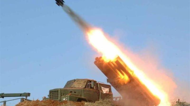 blue flame rocket north korea fires more short range rockets news al jazeera