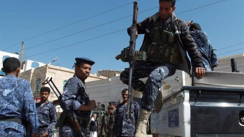 Yemeni security forces have faced frequent attacks by fighters they say belong to al-Qaeda [AFP]