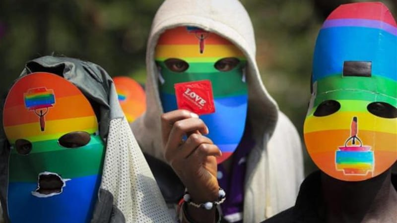 Group of Kenyan MPs are calling for homosexuality to be outlawed like Uganda did recently [EPA]