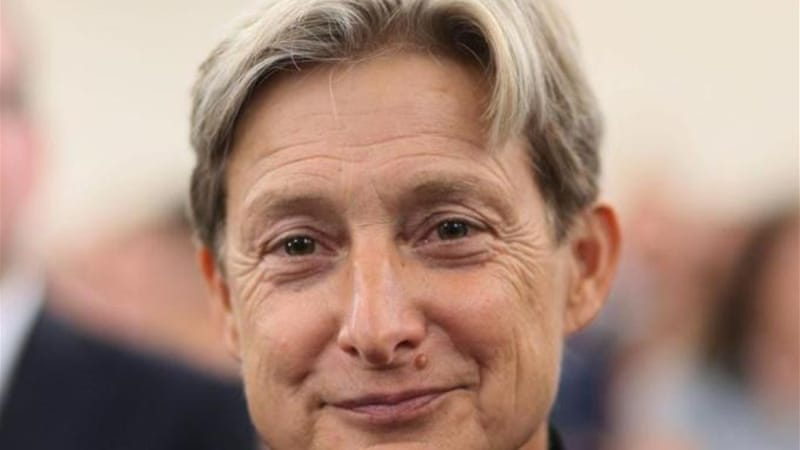 Judith Butler recently had to cancel a lecture on Kafka at the Jewish Museum of New York [EPA]