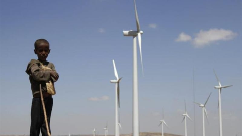 Parts of Africa have good conditions for wind energy generation, argues Popov [Reuters]