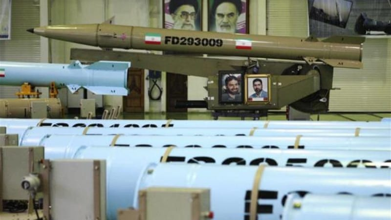 Iran said the new models ushered in a new era of missile technology [AP]
