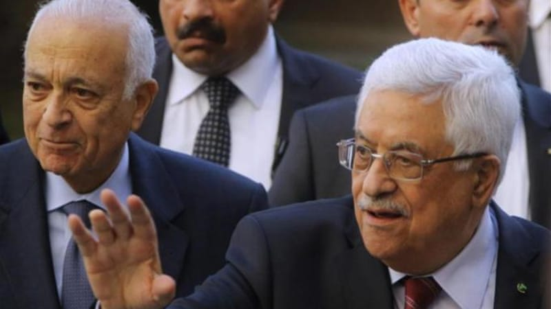 Arab League chief Nabil El-Araby backs Mahmoud Abbas's rejection of Israel as a 'Jewish state' [AP]