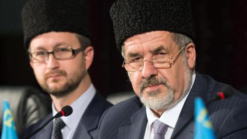Tatarstan politicians repeatedly made visits at Moscow's bidding to win over Crimean Tatars, write the authors [AFP/Getty]