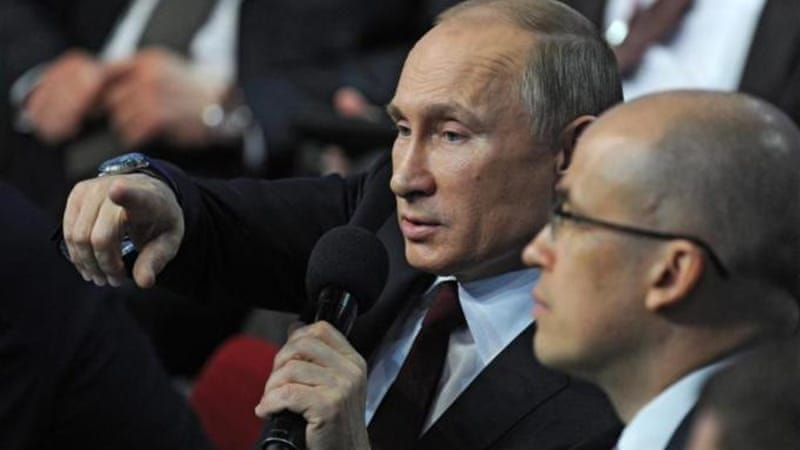 Putin has often criticised the Internet, warning of foreign influence and describing it as 'half pornography' [EPA]