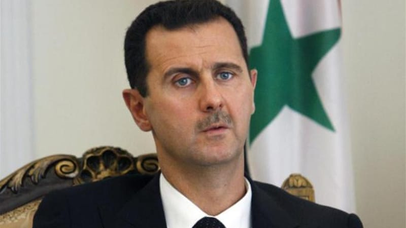 The civil war raging in Syria is the most serious challenge to the rule by Assad family till date [AP]