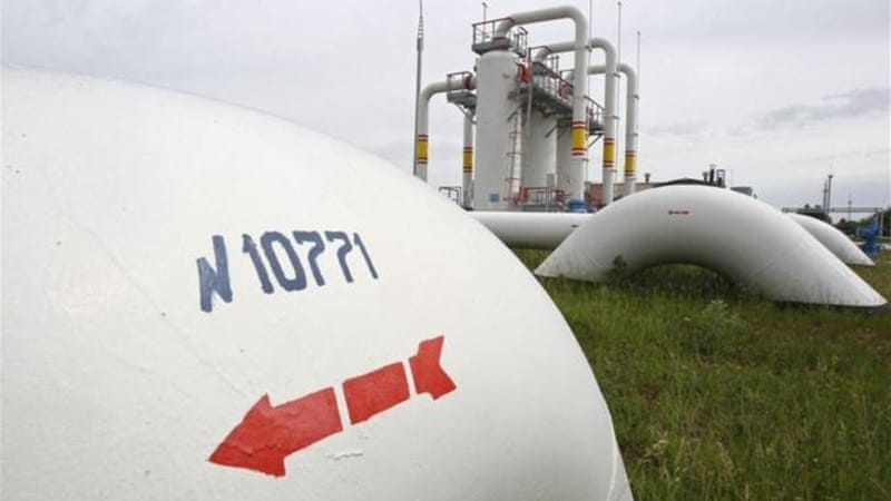 Russia's gas meets about a third of EU nations' demand, nearly 40 percent of which flows through Ukraine [Reuters]