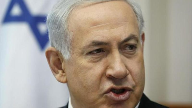 Netanyahu has overplayed the assertion that Hamas 'calls for the destruction of Israel' [AP]