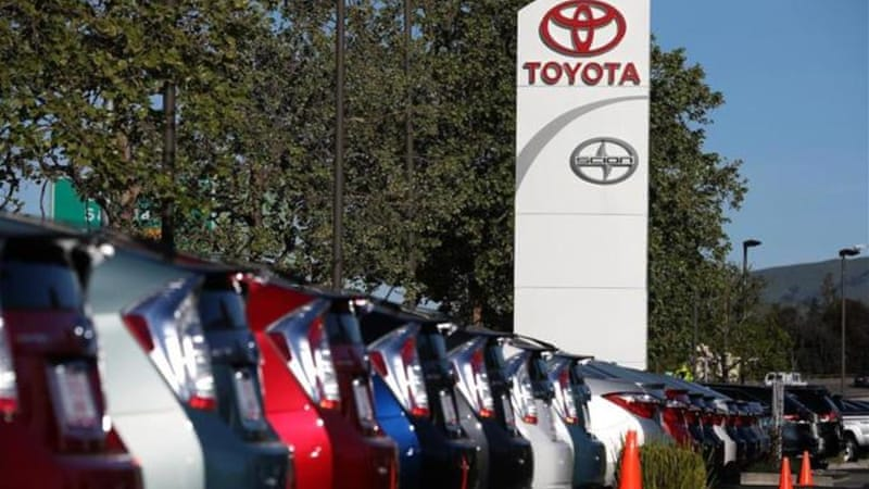 Toyota says it is not aware of any accidents related to the faults. [GETTY]