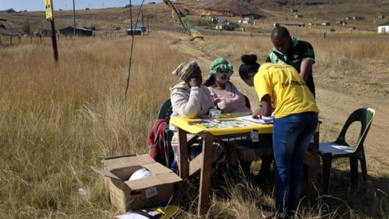 The ANC won 70 percent of the vote in the Eastern Cape [AP]