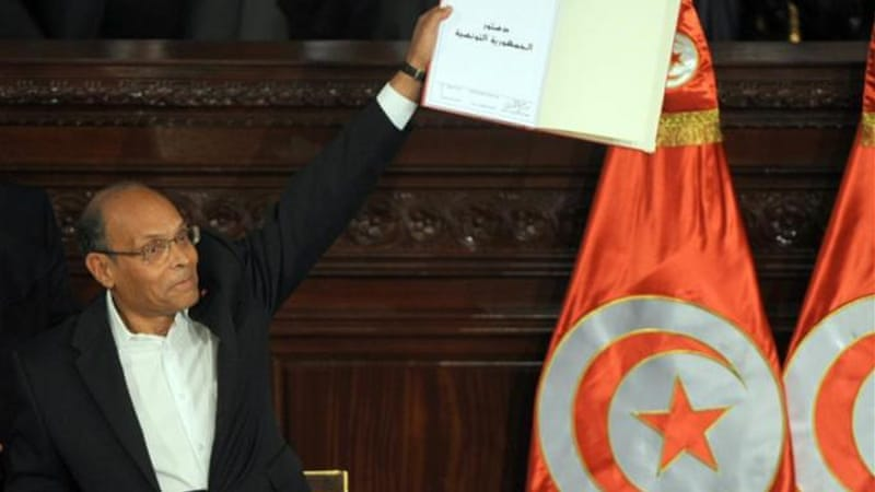 Tunisia adopted its new constitution on January 27 [AFP]