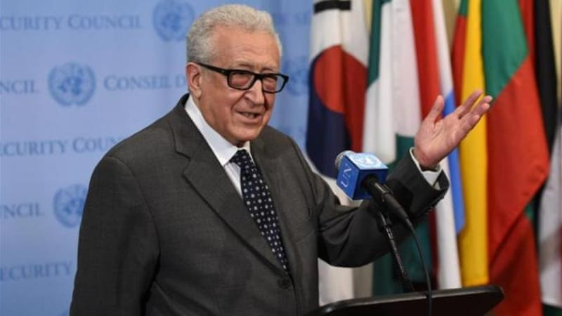 Lakhdar Brahimi, United Nations and Arab League Special Envoy to Syria, has stepped down from the post [AFP]