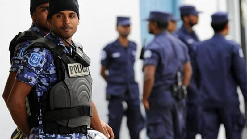 The Maldives uses a hybrid of British common law and Islamic law [AFP]