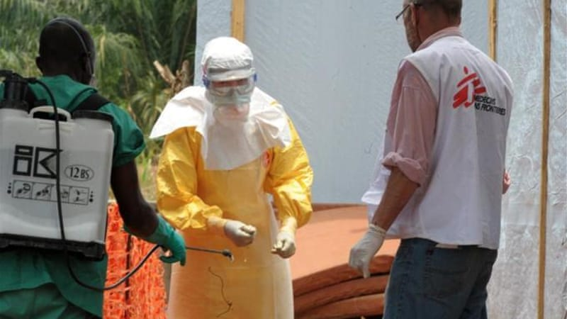 Ebola has killed more than 100 people since March, and has a fatality rate of up to 90 percent [AFP]