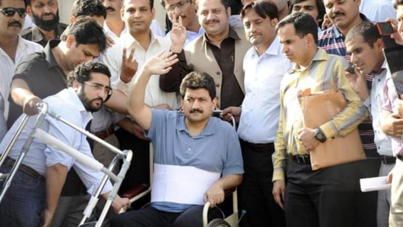 Talk show host Hamid Mir has survived several assassination attempts [EPA]