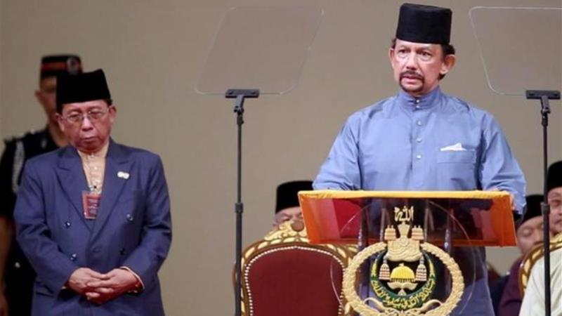 The Sultan of Brunei Hassanal Bolkiah recently announced the adoption of a penal code based on Sharia [EPA]