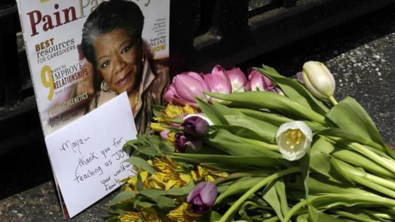 Maya Angelou's impact was worldwide, writes Williams [AP]