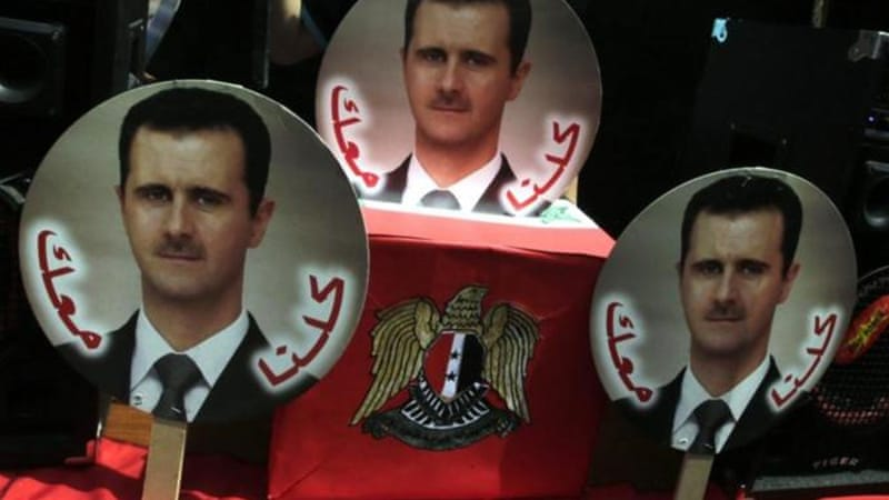 Assad's re-election will only make things worse than they already are, writes Kabalan [EPA]