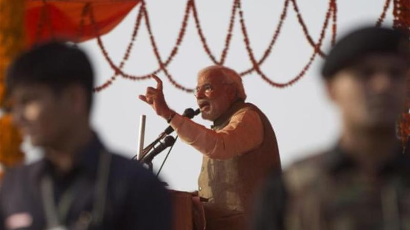 Modi as prime minister will face virtually no political constraints from within the BJP or its allies [AP]