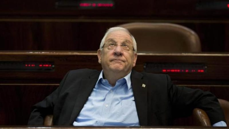 The 74-year-old Rivlin opposes the creation of a Palestinian state and is widely expected to win the vote [EPA]