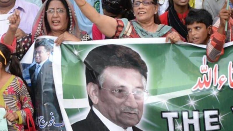 Musharraf has been granted bail in three other major cases linked to his time in power [File: AFP]