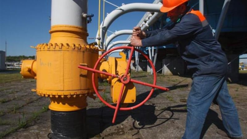 Ukraine refused to pay its natural-gas bills after Russia decided to nearly double rates [AFP]