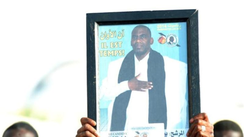 Anti-slavery campaigner Biram Ould Dah Ould Abeid has filed an appeal at the Constitutional Council [AFP]
