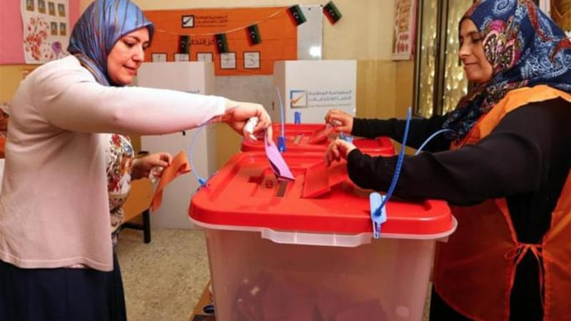 Some 1.5 million Libyans have registered to vote in the legislative elections [AFP]