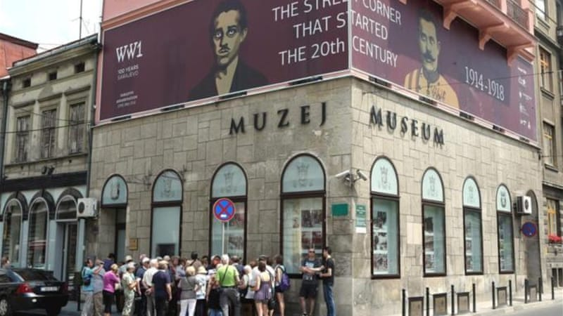 Sarajevo is hosting various events commemorating the 100th anniversary of the start of World War I  [EPA]