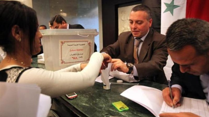 Syrian election vote counting begins