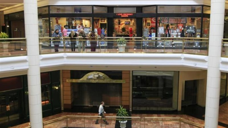 Half of the malls in the US are predicted to close within the next decade [AP]