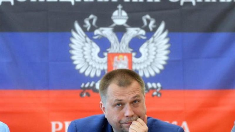 Alexander Borodai, PM of self-proclaimed Donetsk People's Republic, is on the new EU sanctions list [AFP]