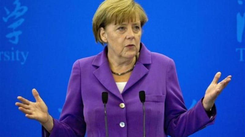 The scandal follows allegations last year that Merkel's phone was bugged by American agents [AP]