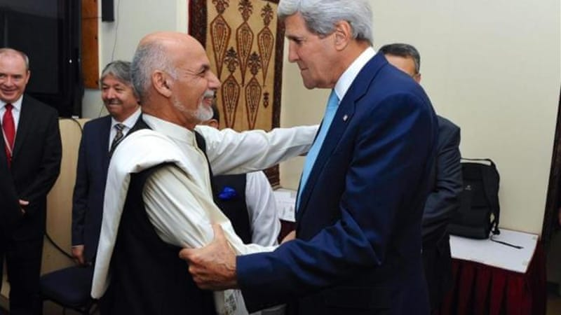 Kerry has just managed to avert an electoral crisis in Afghanistan, writes Malikyar [EPA]