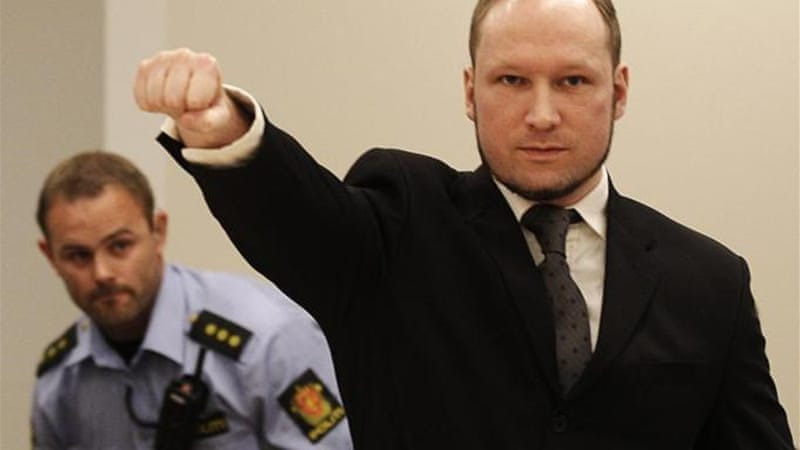 Anders Breivik killed 77 people in a bomb and gun attack in Norway in 2011 [AP]