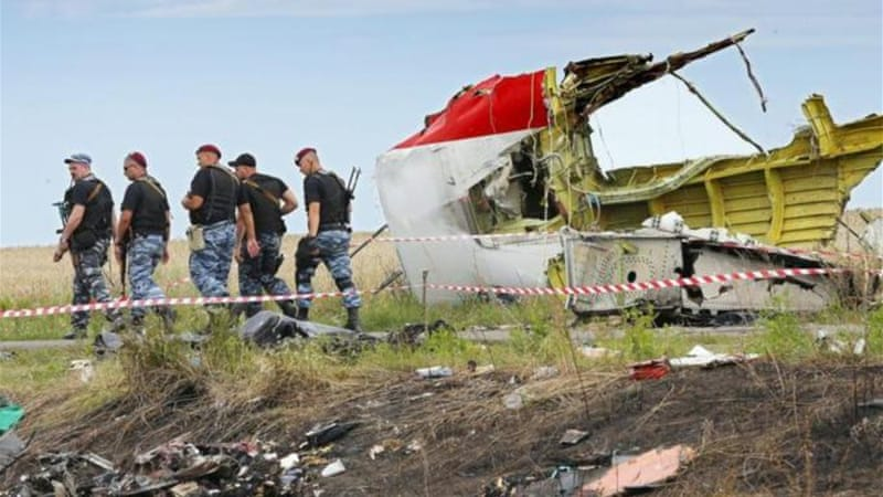 Rebels are in control of the crash site, and the whereabouts of MH17's flight recorders is unknown [Reuters]