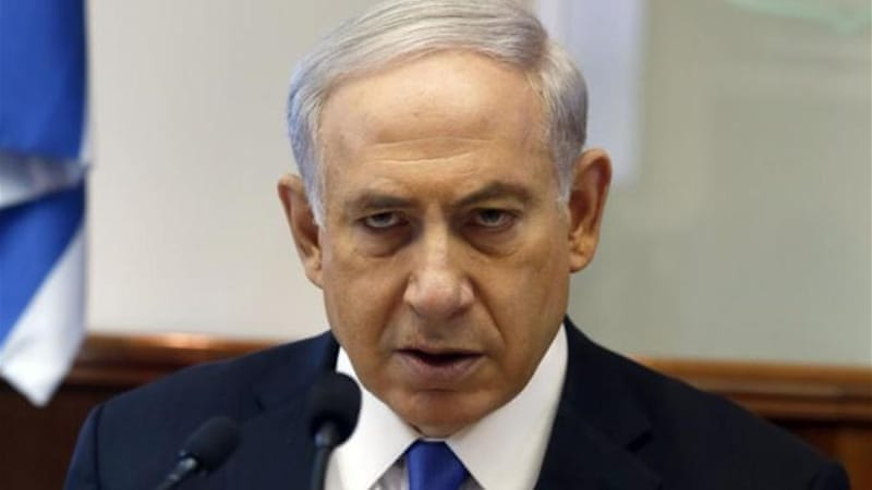 Israel's Netanyahu has ruled out future Palestinian sovereignty, writes Bishara [AP]
