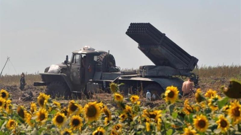 Both the Ukrainian army and the insurgent forces have used Grad rockets [AFP]